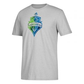 Seattle Sounders Smoke Out T-Shirt - Lt Grey