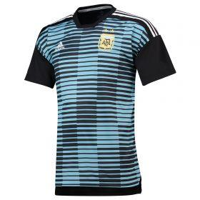 Argentina Home Pre Match Shirt - Blue