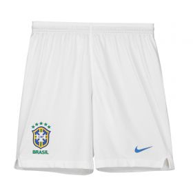 Brazil Away Stadium Shorts 2018 - Kids