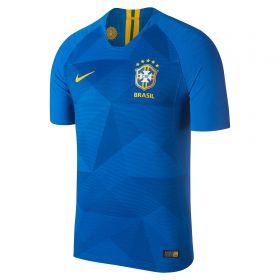 Brazil Away Vapor Match Shirt 2018