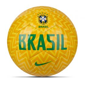 Brazil Skills Mini Football - Gold