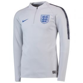 England Squad Drill Top - Grey