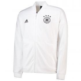 Germany ZNE Knitted Anthem Jacket - White