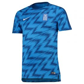 Greece Squad Graphic Training Top - Blue