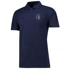 Italy Azzurri Polo - Navy