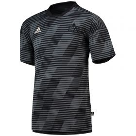 LA Galaxy Tango Engineered Jersey - Black