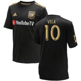 Los Angeles FC Home Shirt 2018 - Kids with Vela 10 printing
