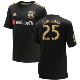 Los Angeles FC Home Shirt 2018 - Kids with Zimmerman 25 printing