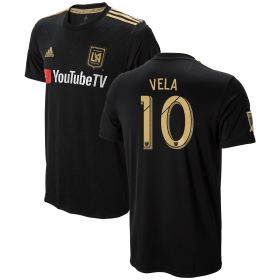 Los Angeles FC Home Shirt 2018 with Vela 10 printing
