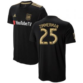 Los Angeles FC Home Shirt 2018 with Zimmerman 25 printing