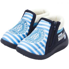 Olympique de Marseille Boot Slippers - Blue - Baby