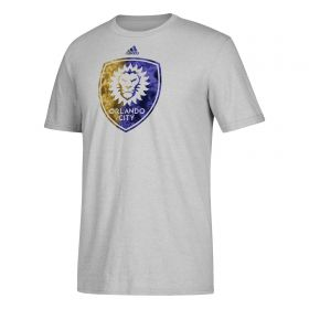 Orlando City SC Smoke Out T-Shirt - Lt Grey