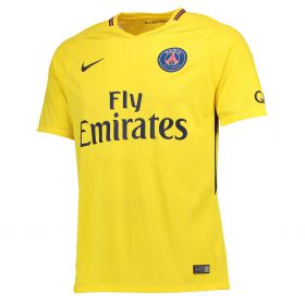 Paris Saint-Germain Away Stadium Shirt 2017-18 with Yuri B 17 printing