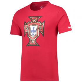 Portugal Evergreen Crest T-Shirt - Red