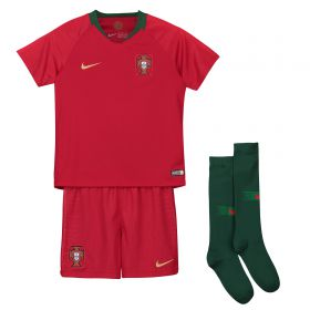 Portugal Home Stadium Kit 2018 - Little Kids