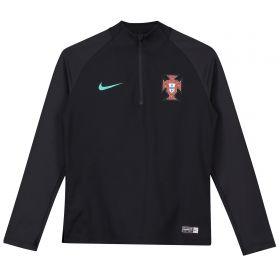 Portugal Squad Drill Top - Black - Kids