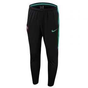 Portugal Squad Training Pants - Black