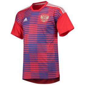 Russia Home Pre Match Shirt - Red