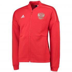 Russia ZNE Knitted Anthem Jacket - Red