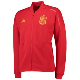 Spain ZNE Knitted Anthem Jacket - Red