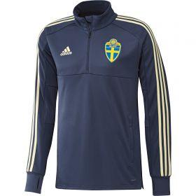 Sweden Training 1/4 Zip Top - Blue