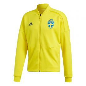 Sweden ZNE Knitted Anthem Jacket - Yellow