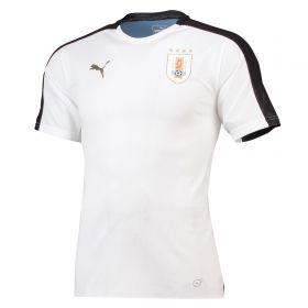 Uruguay Training Stadium Jersey - White