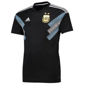 Argentina Away Shirt 2018 with Messi 10 printing