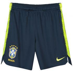 Brazil Squad Training Shorts - Navy - Kids