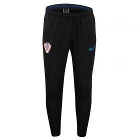Croatia Squad Training Pants - Black