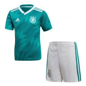 Germany Away Mini Kit 2018 with Beckenbauer 5 printing