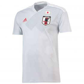 Japan Away Shirt 2018 with Nakamura 10 printing