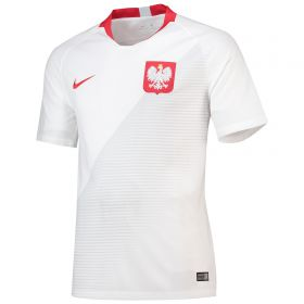 Poland Home Stadium Shirt 2018
