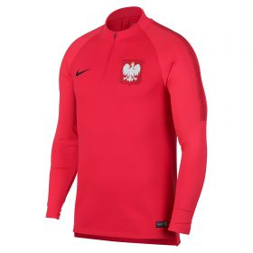 Poland Squad Drill Top - Red