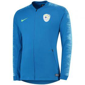 Slovenia Anthem Jacket - Blue