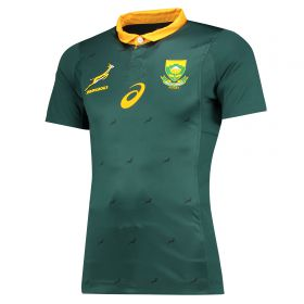 South Africa Home Test Shirt 17-18 - Green