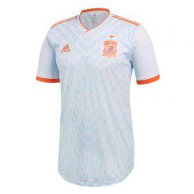 Spain Authentic Away Shirt 2018 with Raúl 7 printing