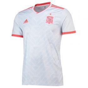 Spain Away Shirt 2018 with Raúl 7 printing