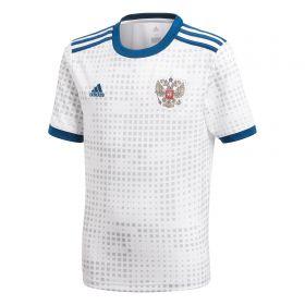 Russia Away Shirt 2018 - Kids with Pavlyuchenko 9 printing