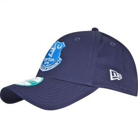 Everton New Era Core Cap - Navy