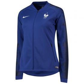 France Anthem Jacket - Blue - Womens