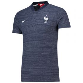 France Authentic Grand Slam Franchise Polo - Navy