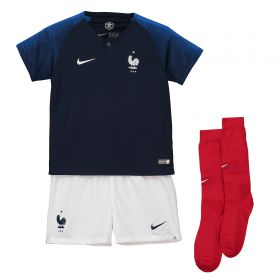 France Home Stadium Kit 2018 - Little Kids