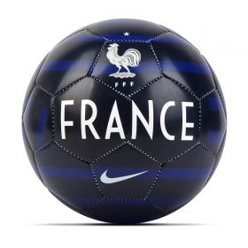 France Skills Mini Football - Navy