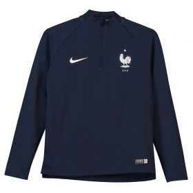 France Squad Drill Top - Navy - Kids