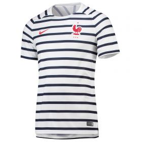 France Squad Graphic Training Top - White