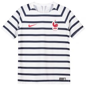 France Squad Graphic Training Top - White - Kids