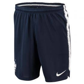 France Squad Training Shorts - Navy