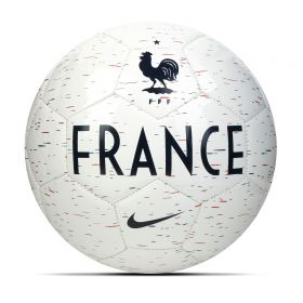 France Supporters Football - White - Size 5