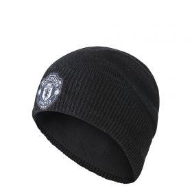 Manchester United Beanie - Dark Grey